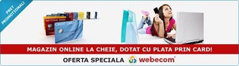 Webecom eshop offer